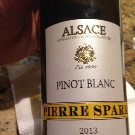 Pierre Sparr Alsace AOC Pinot Blanc 2013