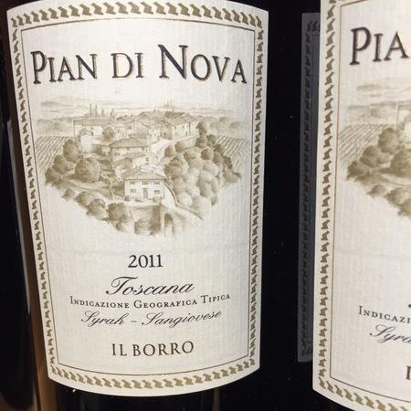Il Borro Pian di Nova Toscana Syrah Sangiovese 2013