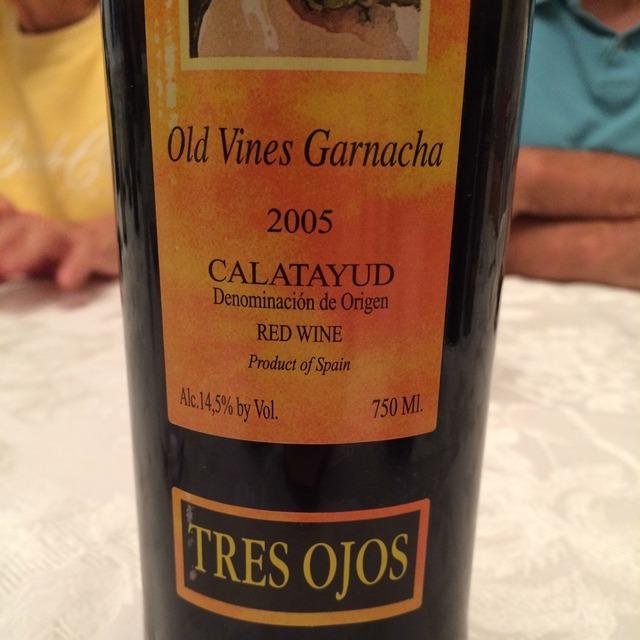 Old Vines Garnacha  2012