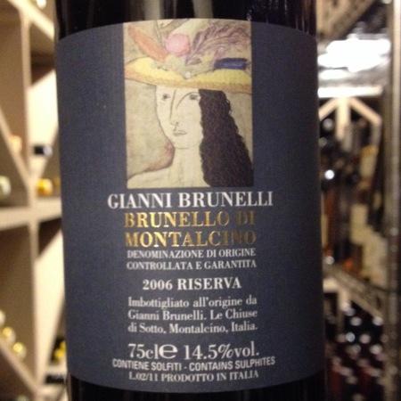 Gianni Brunelli Riserva Brunello di Montalcino Sangiovese 2006