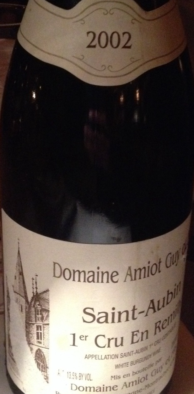 En Remilly Saint-Aubin 1er Cru Chardonnay 2002