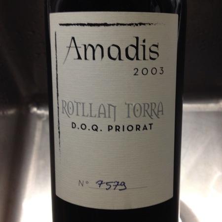 Rotllan Torra Amadis Priorat 2003