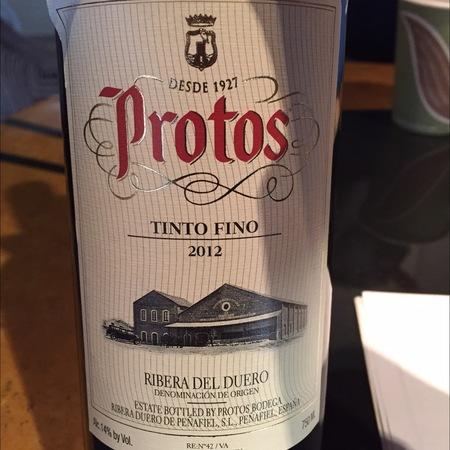 Bodegas Protos Ribera del Duero Tinto Fino 2014