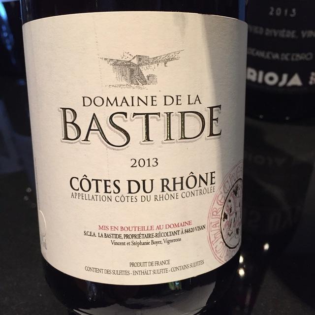 Côtes du Rhône White Rhône Blend 2015