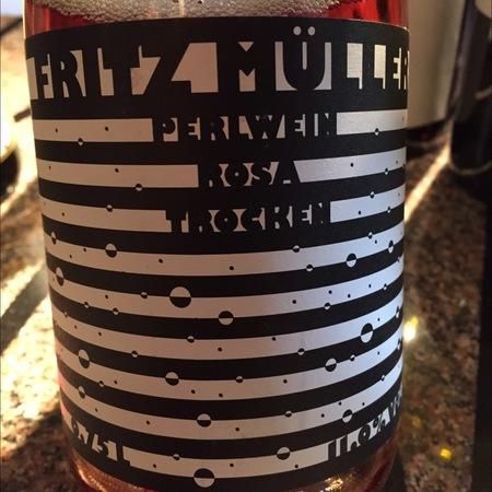 Weingut Jürgen Hofmann Fritz Müller Perlwein Rosa Trocken Pinot Noir Blauer Portugieser