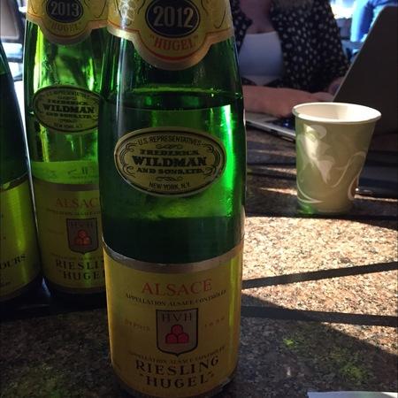 Hugel et Fils Alsace Riesling 2012