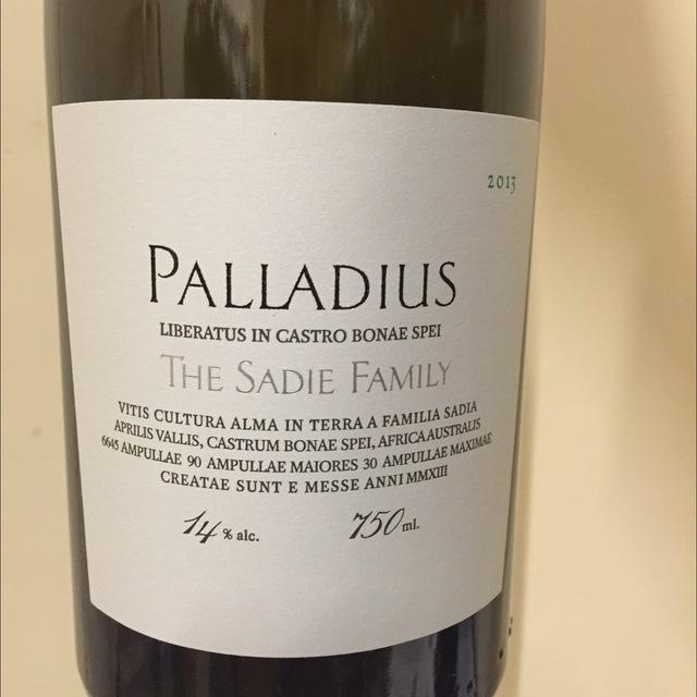 Palladius Swartland White Blend 2013