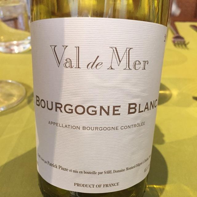 Val de Mer Bourgogne Blanc Chardonnay 2013