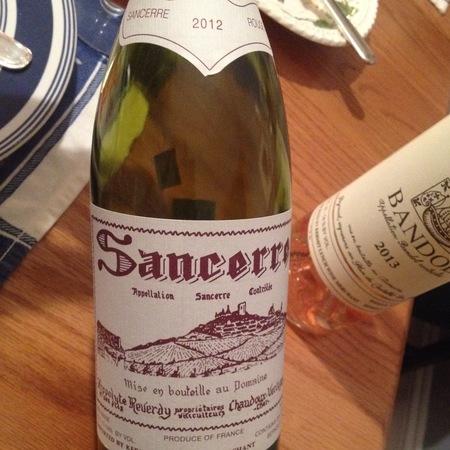 Domaine Hippolyte Reverdy Sancerre Sauvignon Blanc 2016