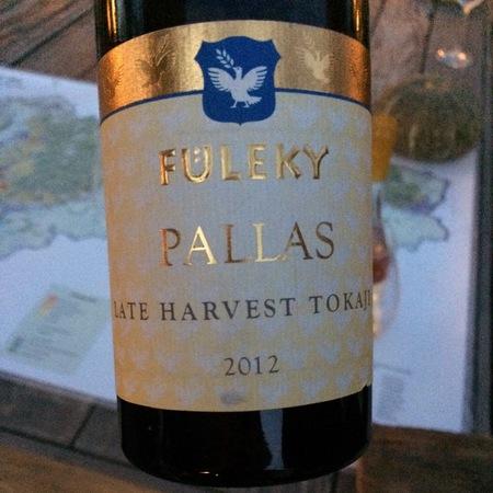 Füleky Pallas Tokaji Late Harvest Furmint 2012 (500ml)