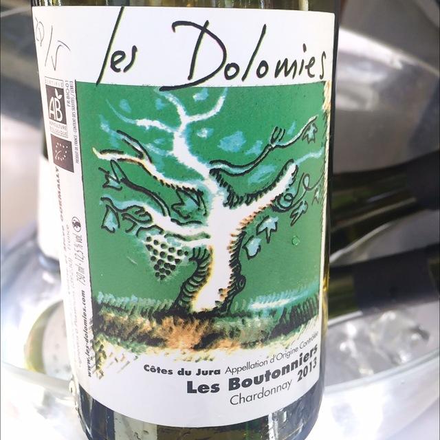 Les Boutonniers Côtes du Jura Chardonnay 2013