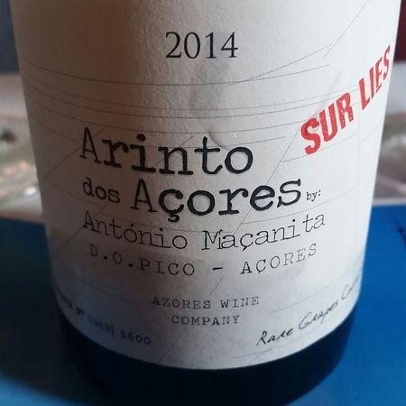 Azores Wine Co. António Macanita  Arinto Dos Açores Sur Lies  2016