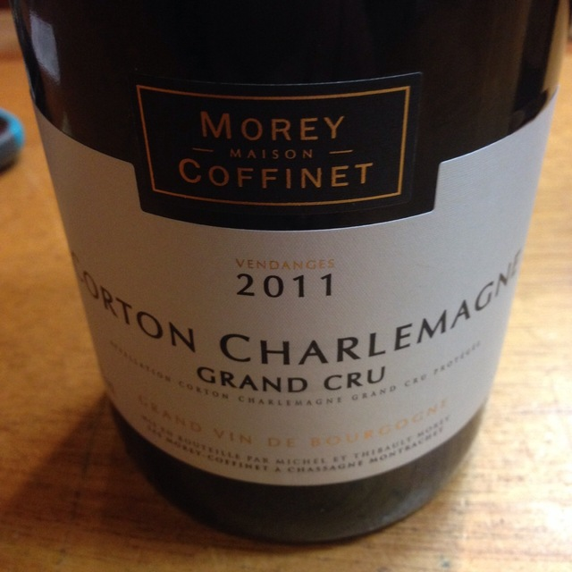 Corton Charlemagne Grand Cru Chardonnay 2011