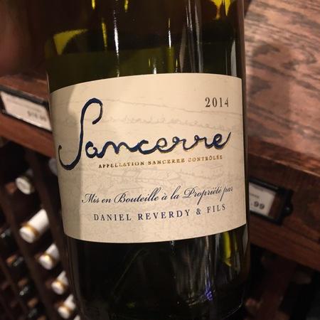 Daniel Reverdy & Fils Sancerre Sauvignon Blanc 2016