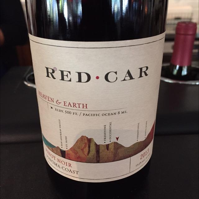 Heaven & Earth Sonoma Coast Pinot Noir 2013