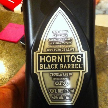 Casa Sauza Hornitos Black Barrel Añejo Tequila NV