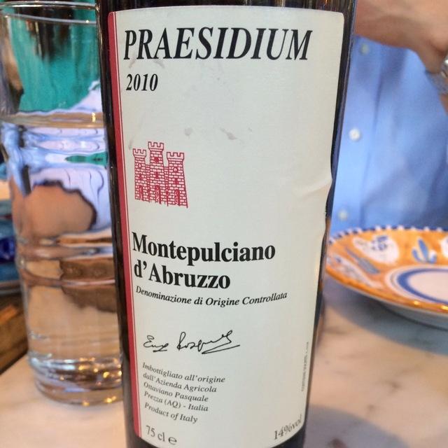 Montepulciano d'Abruzzo  2010