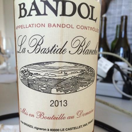 La Bastide Blanche Bandol Rosé Mourvèdre Blend 2016