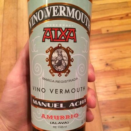 Manuel Acha Atxa Vino Vermouth NV