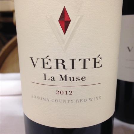 Vérité La Muse Sonoma County Merlot Blend 2012