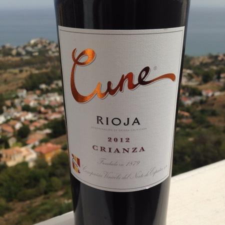 C.V.N.E. (Compañía Vinícola del Norte de España) Cune Crianza Rioja Tempranillo Blend 2012