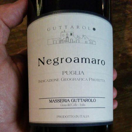 Masseria Guttarolo Puglia Negroamaro 2011