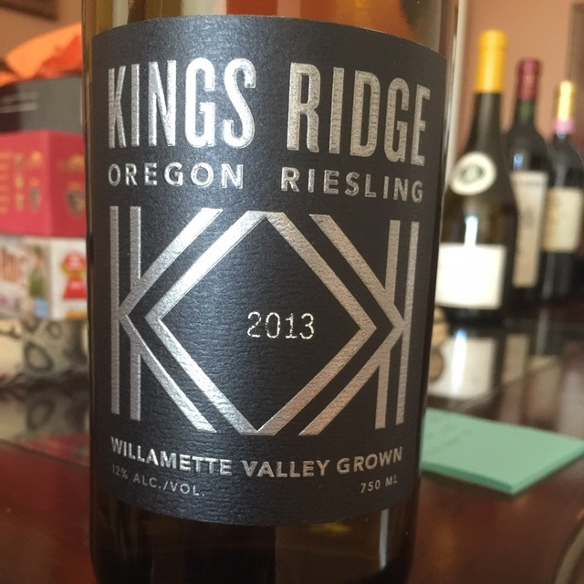 Willamette Valley Grown Riesling 2013