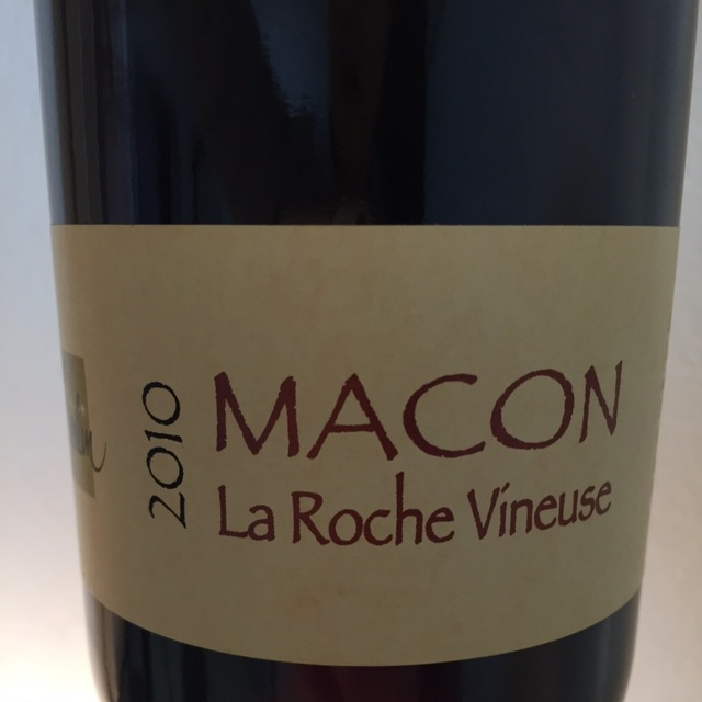 Macon La Roche Vineuse Chardonnay 2014