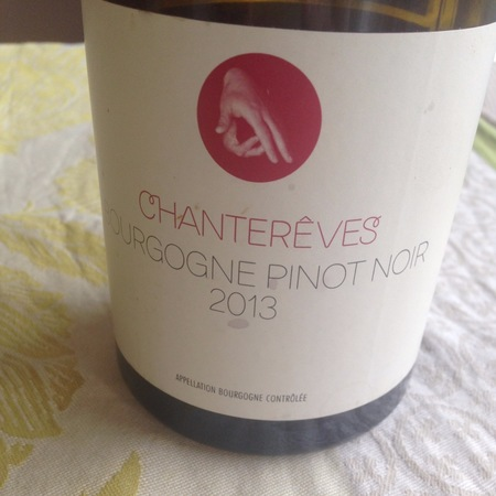 Chanterêves Bourgogne Pinot Noir  2015