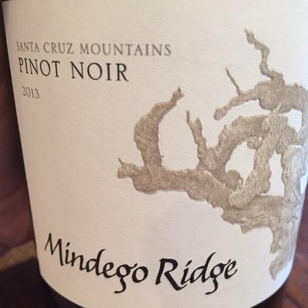 Mindego Ridge Santa Cruz Mountains Pinot Noir 2014