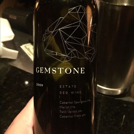 Gemstone Vineyards Estate Red Blend 2009