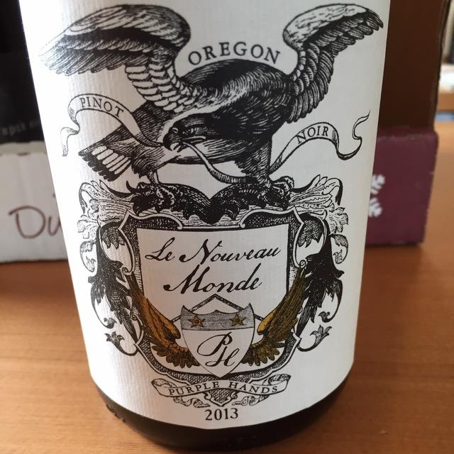 Le Nouveau Monde Pinot Noir 2013