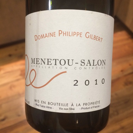 Domaine Philippe Gilbert Menetou-Salon Pinot Noir 2014
