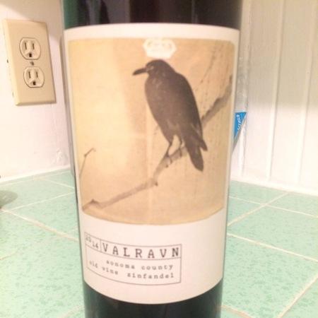 Valravn Sonoma County Old Vine Zinfandel  2014