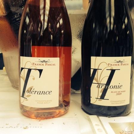 Franck Pascal Harmonie Extra Brut Blanc de Noirs Champagne Pinot Noir 2009