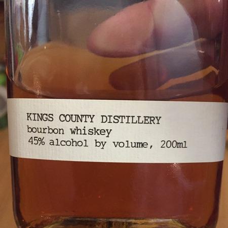 Kings County Distillery  Bourbon Whiskey NV (200ml)