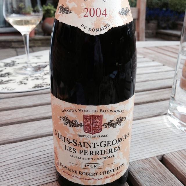 Les Perrières Nuits St. Georges 1er Cru Pinot Noir 2004