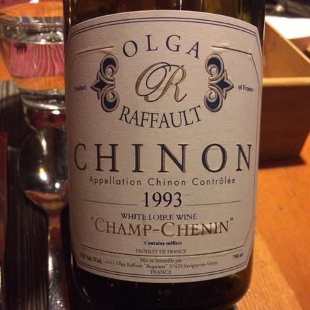 Olga Raffault Champ-Chenin Chinon Chenin Blanc 1993