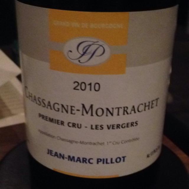 Les Vergers Chassagne-Montrachet 1er Cru Chardonnay 2010