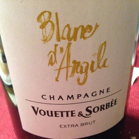 Vouette et Sorbée Blanc d'Argile Extra Brut Champagne Chardonnay NV