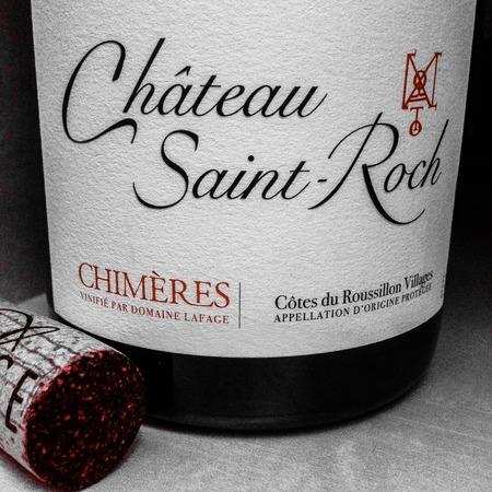 Château Saint-Roch Chimères Cotes du Roussillon Villages Grenache Blend 2015