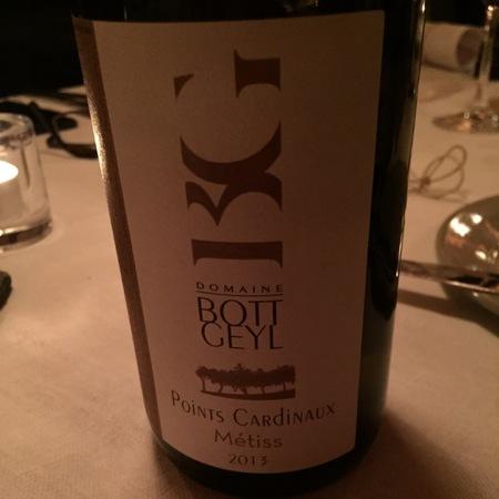 Bott-Geyl Points Cardinaux Métiss Alsace White Blend 2014