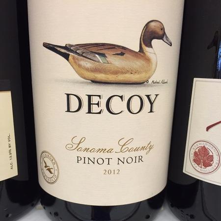 Decoy Sonoma County Pinot Noir 2015