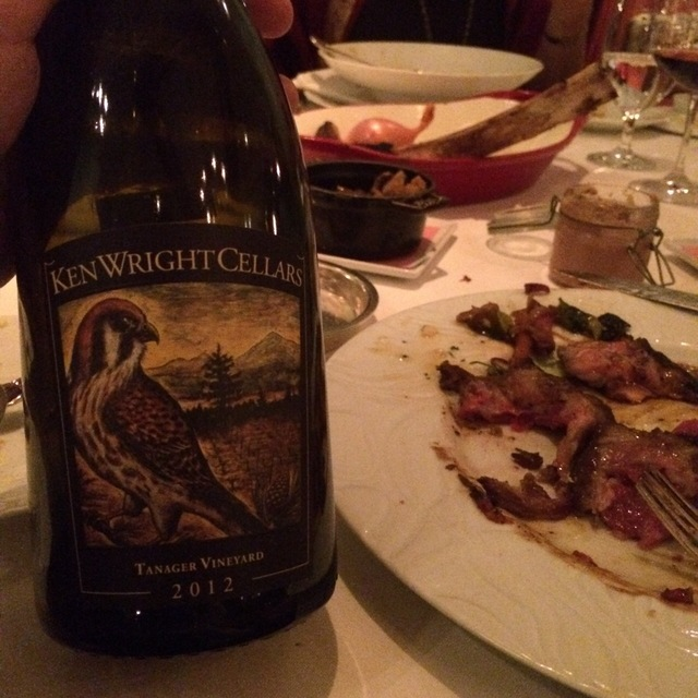 Tanager Vineyard Pinot Noir  2014