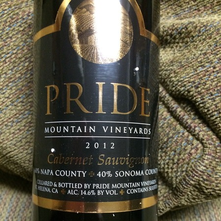 Pride Mountain Vineyards Sonoma/Napa County Cabernet Sauvignon 2013 (375ml)