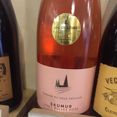 Domaine du Vieux Pressoir Saumur Fines Bulles Rosé
