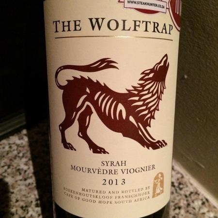 Boekenhoutskloof The Wolftrap Syrah Blend 2015