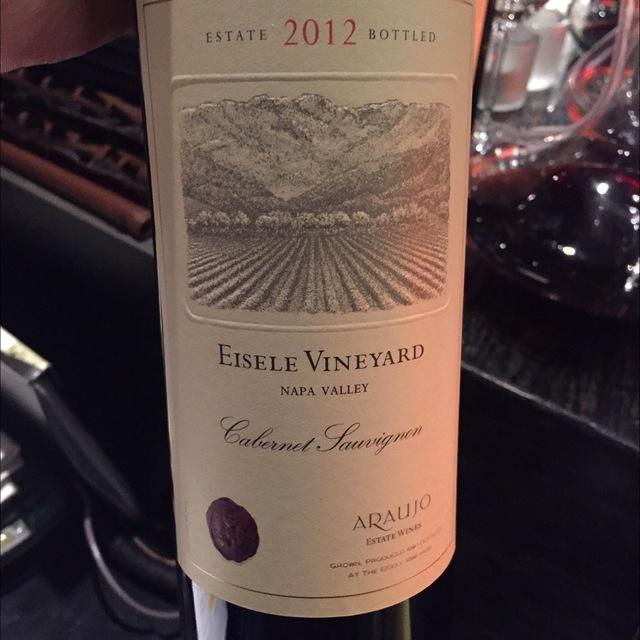 Vieilles Vignes Eisele Vineyard Cabernet Sauvignon 2012