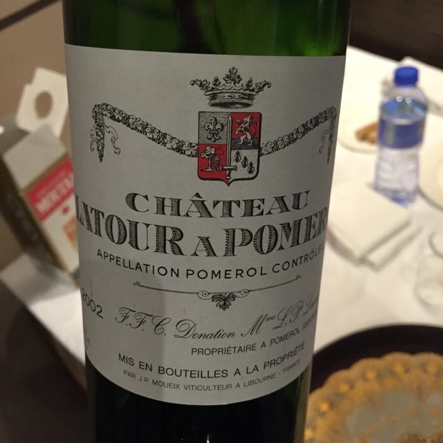 Pomerol Red Bordeaux Blend 2002