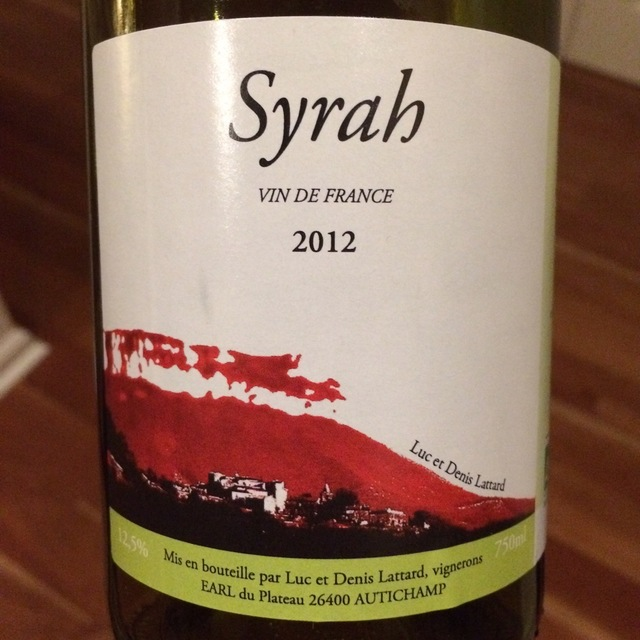 Vin de France Syrah NV